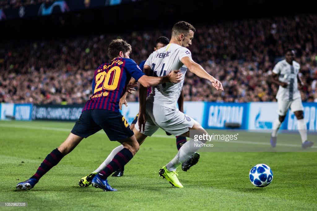 صور مباراة : برشلونة - إنتر ميلان 2-0 ( 24-10-2018 )  Y