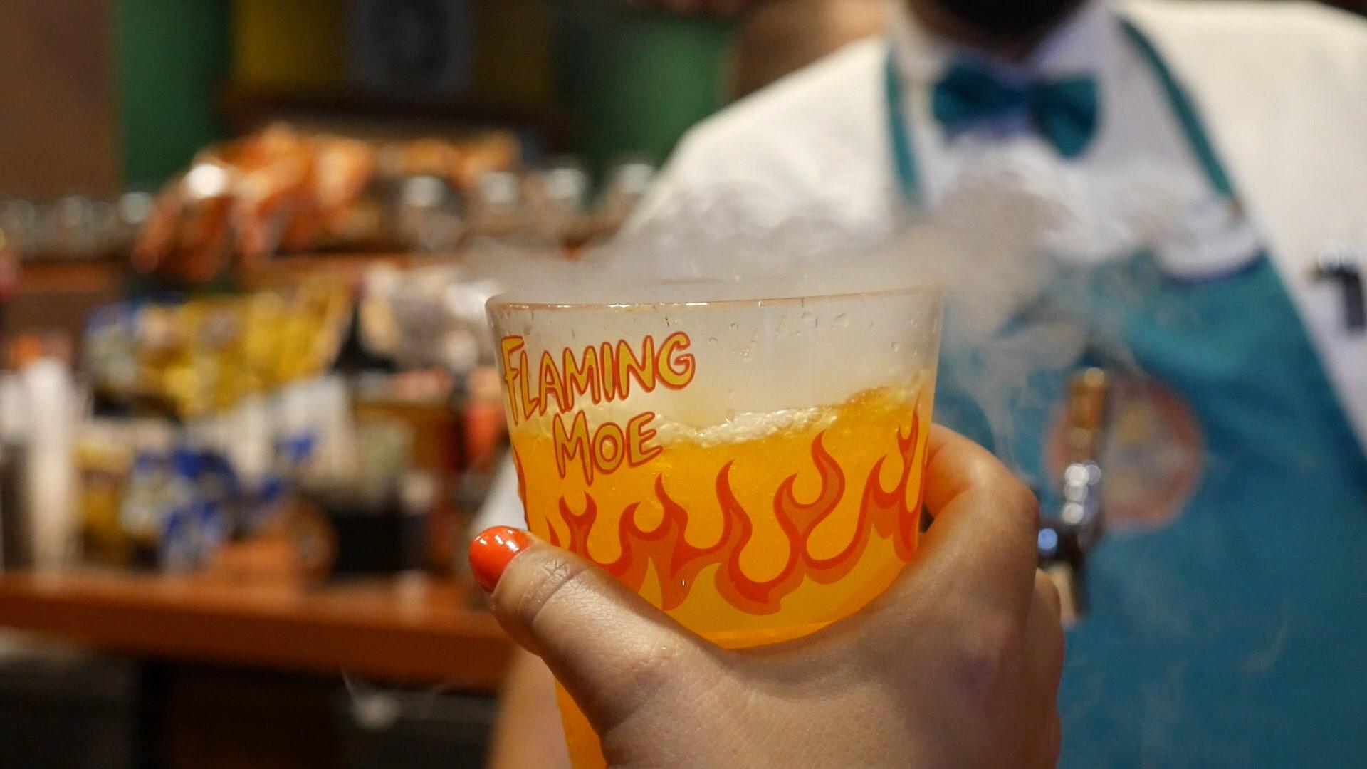 Flaming Moe at Universal Orlando Resort