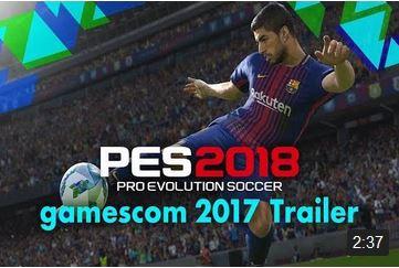 Konami presenta PES 2018 en la Gamescom con este trailer