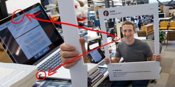 Zuckerberg isi acopera webcam-ul cu banda adeziva