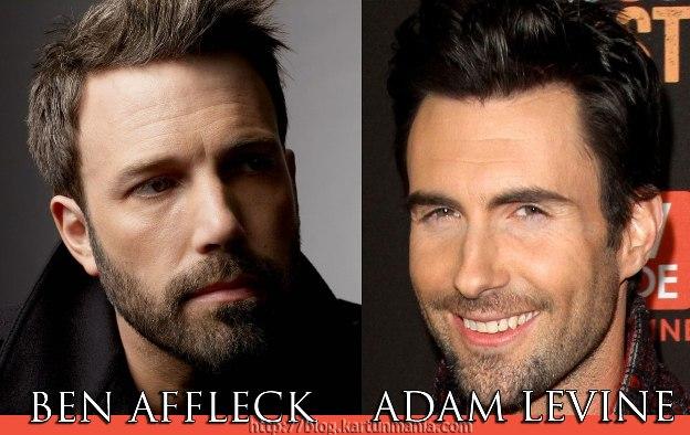 Ben Affleck dan Adam Levine