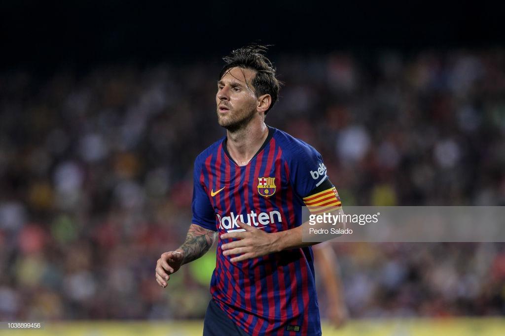 صور مباراة : برشلونة - جيرونا 2-2 ( 23-09-2018 )  Image