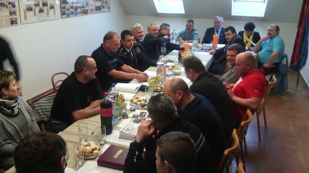 Výroční schůze SDH Lubenec 2016 11