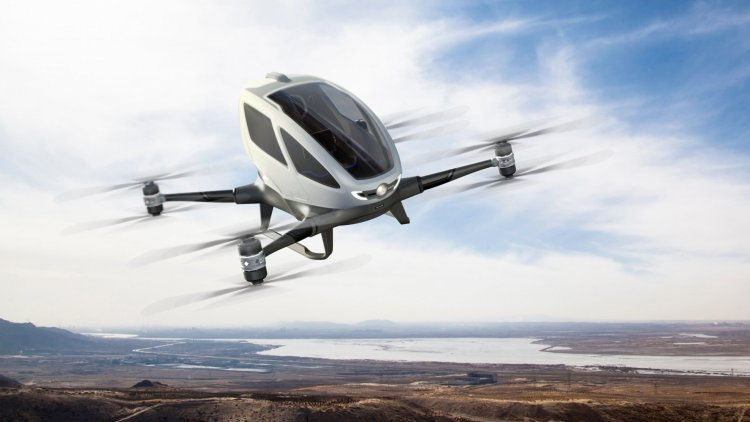 flying taxi by uber
