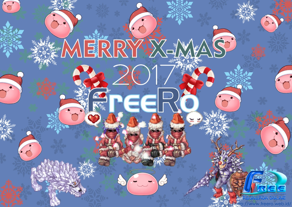 Pemenang Event Design Wallpaper Christmas 2017 FREEROXMAS_EDIT_2