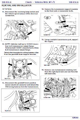 workshop manual ford 2001 van diesel