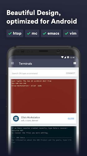 Termius - SSH, Mosh and Telnet client 3.0.2 (Mod) APK