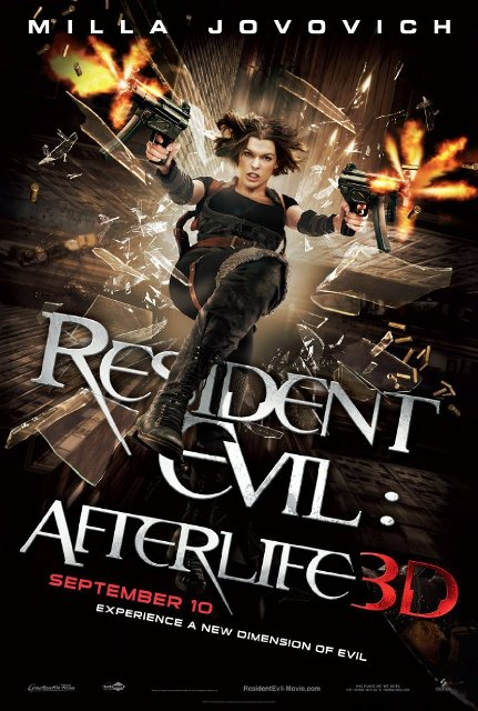 Resident Evil: Afterlife (2010) BluRay 720p 650MB