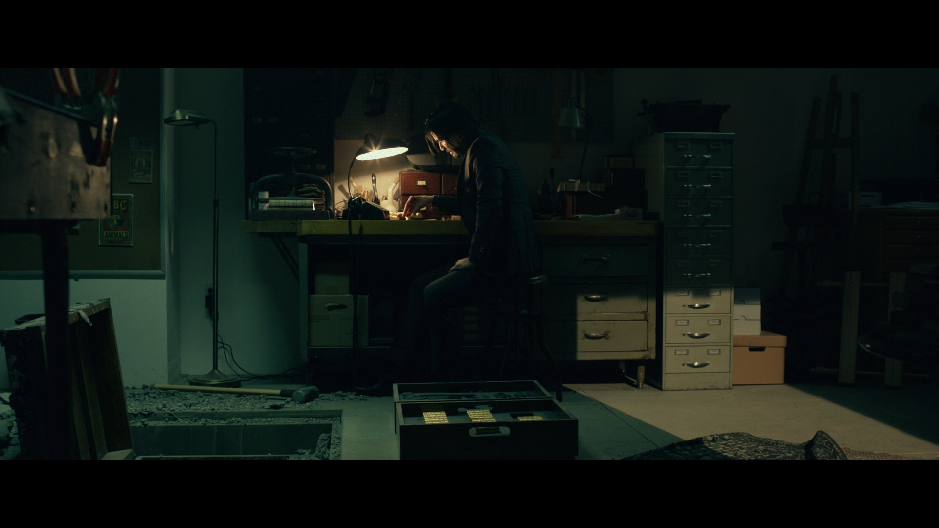 John Wick 2014 1080p Blu Ray 10bit x265 DTS Dr3ad Lo X mkv snapshot
