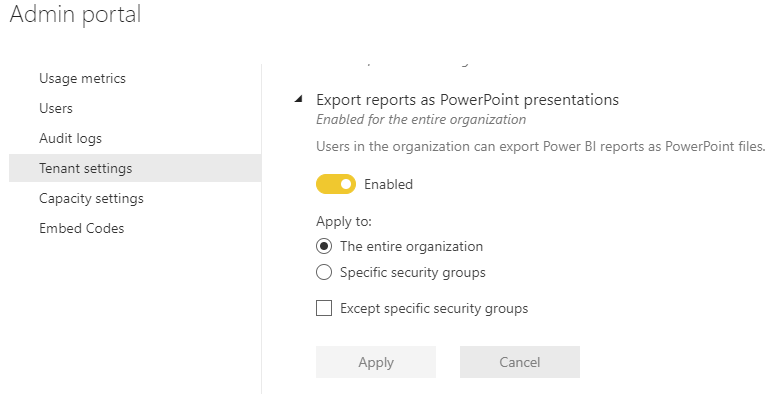 Export_to_Power_Point_no_Longer_available