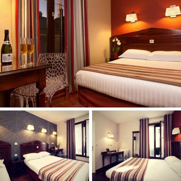 Mejores hoteles baratos en París - conpasaporte.com - Hôtel Eiffel Rive Gauch