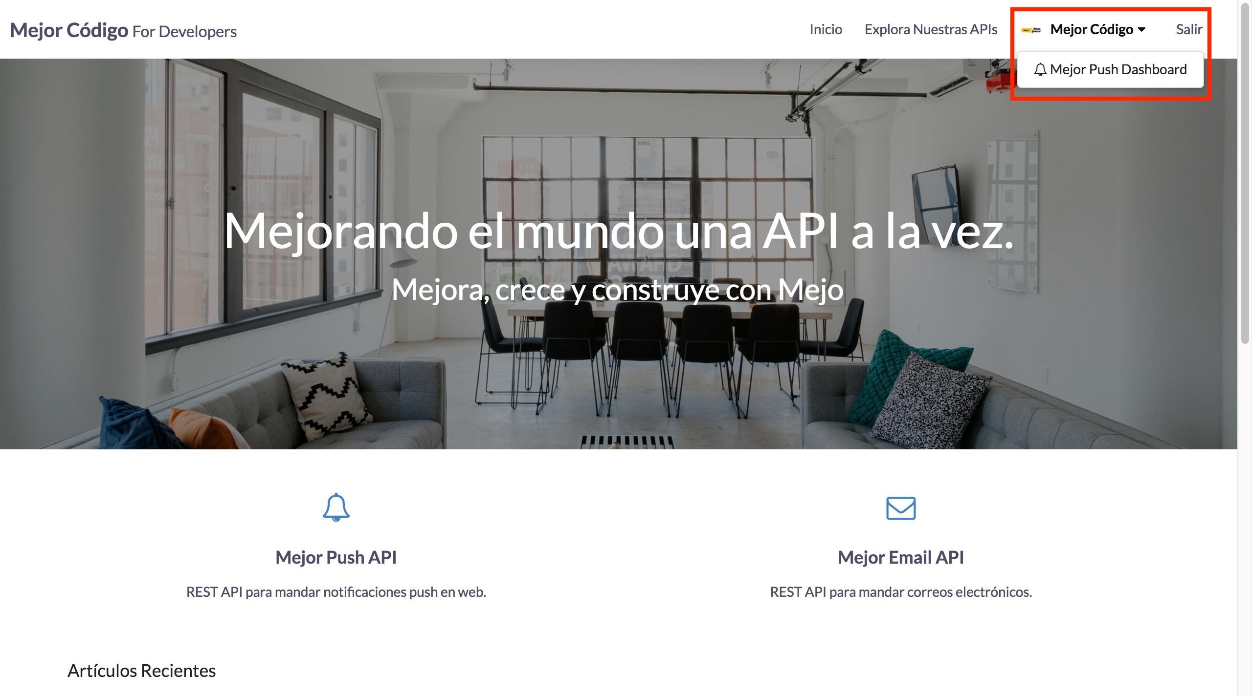 Mejor Código API