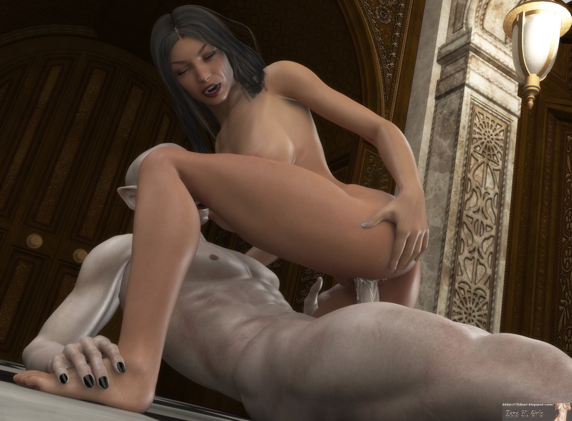 3DZen - Tanya sent to the Mansion