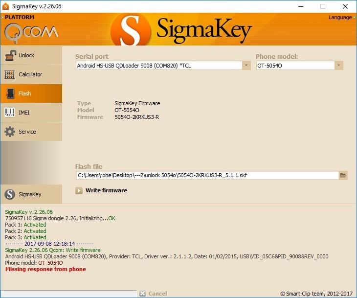 Error unlock ot-5054O new security X8C0LS01BR20 - GSM-Forum
