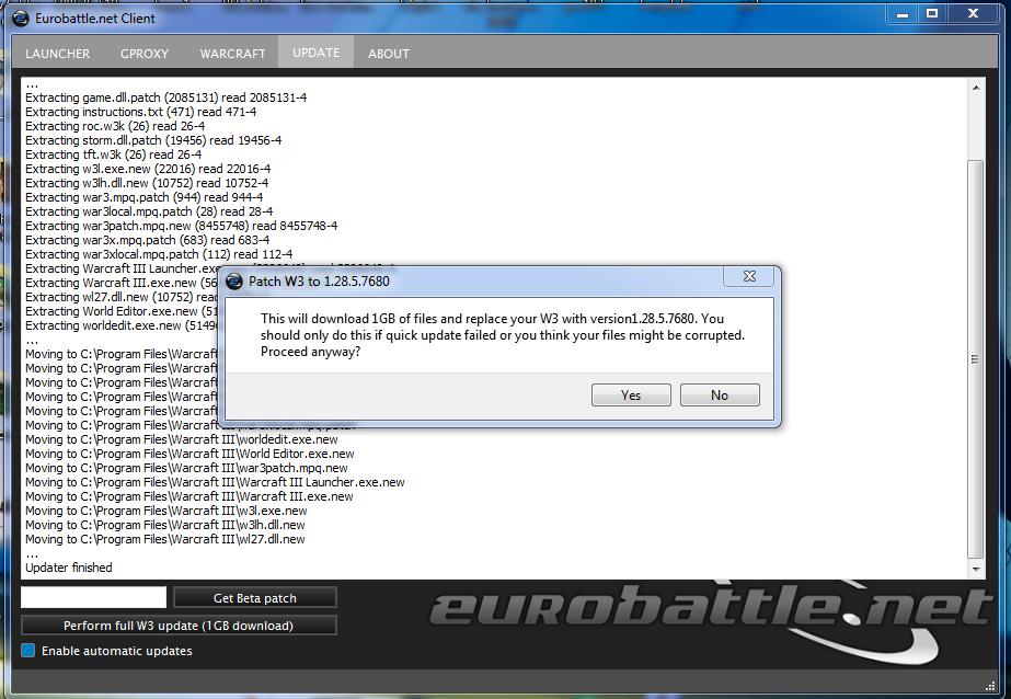 gproxy eurobattle