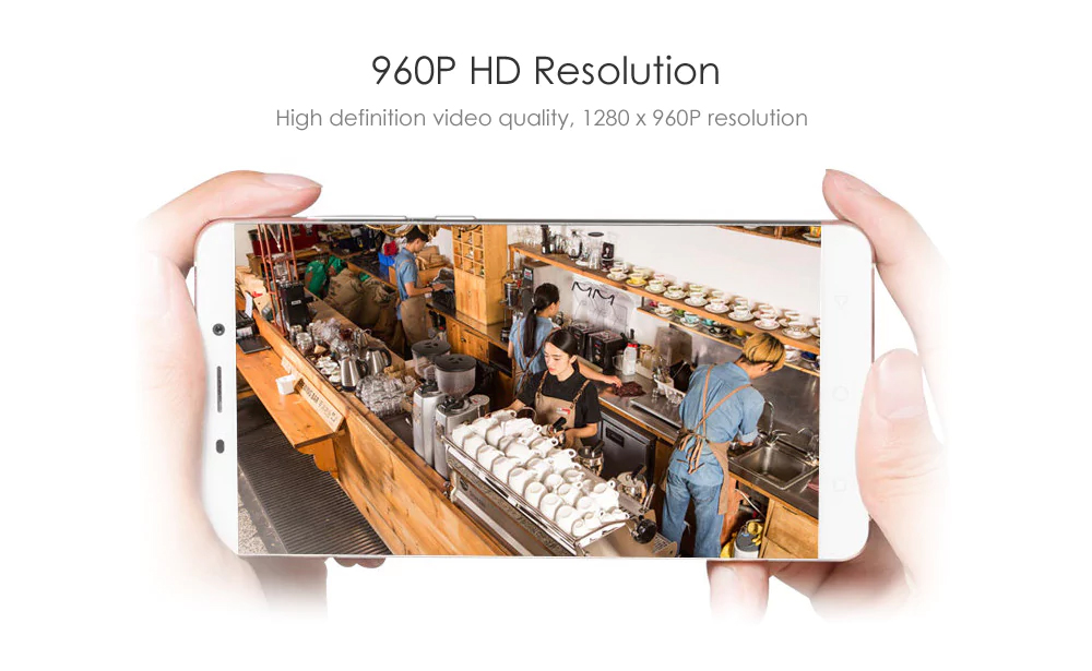 960p HD resolution, high defnition video quality, 1280x960 resolution