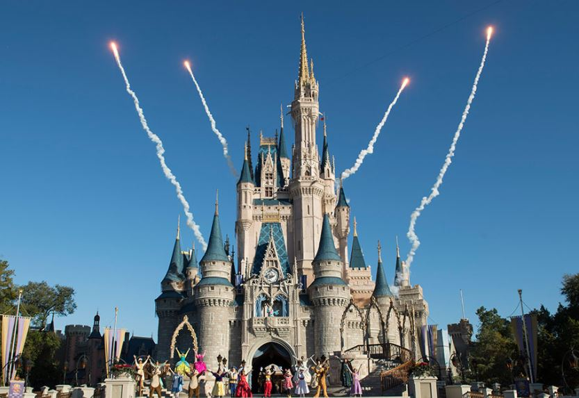 Disney Welcome Show at the Magic Kingdom