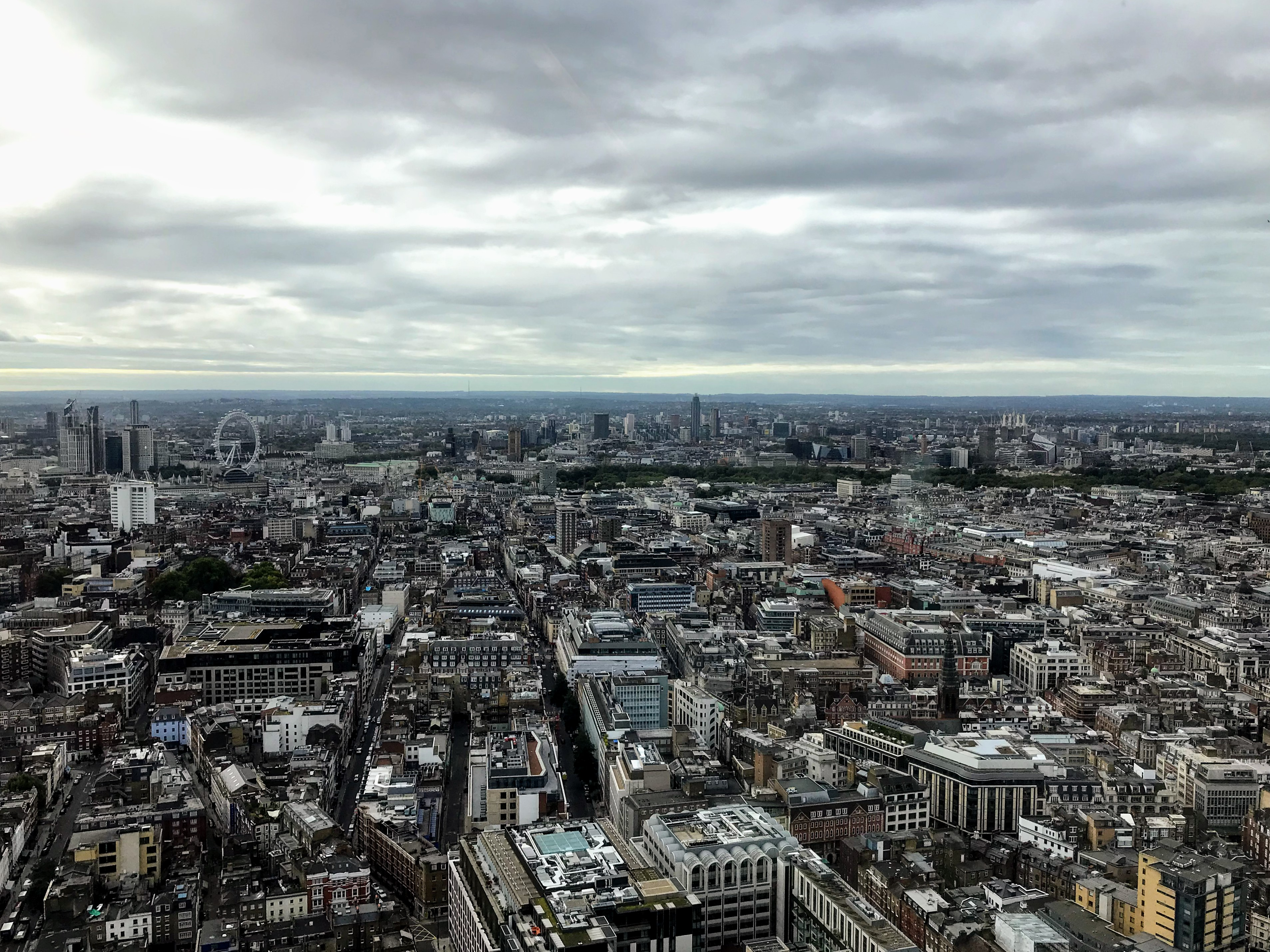 View from BT Tower