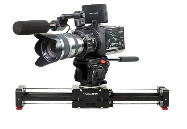 An example of a professional camera slider