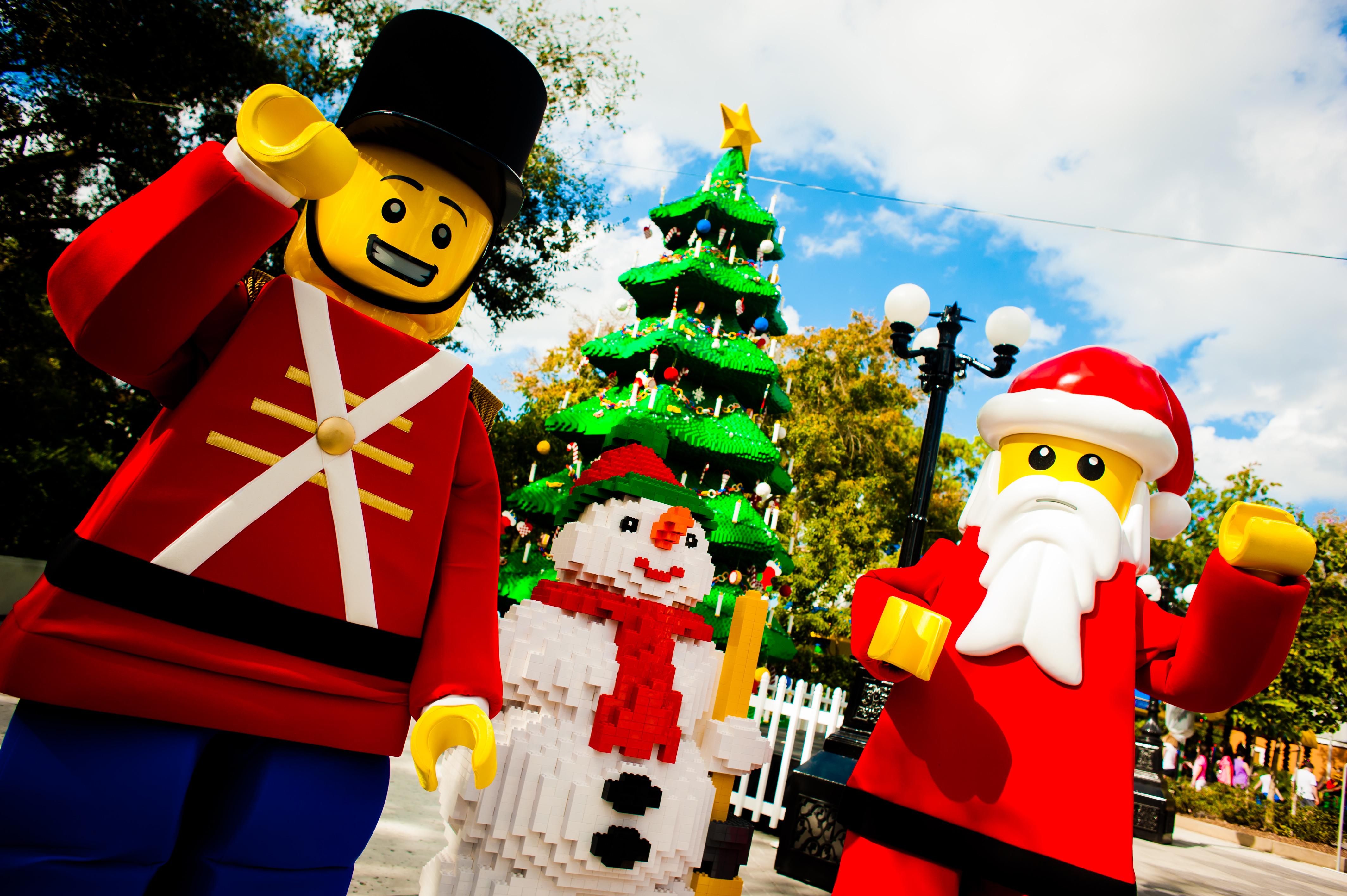 Christmas Bricktacular at Legoland Florida