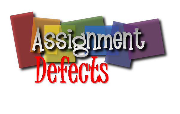 Assignment Defect Categories