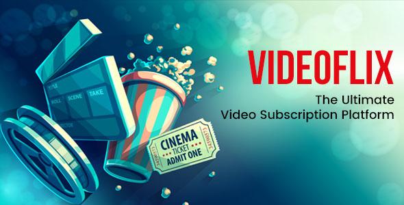 Videoflix v1.1 - Tv Series Movie Subscription Portal Cms