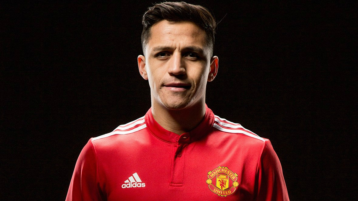 best service c0cd3 01e5d Alexis Sánchez is now officially a Manchester United player ...