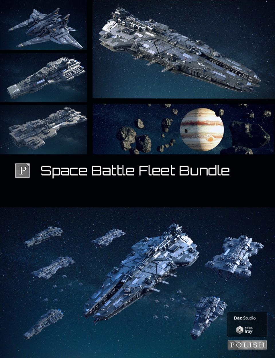 Space Battle Fleet Bundle