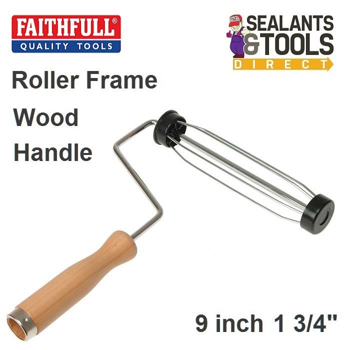 Faithfull Paint Roller Frame 9 inch x 1 3/4