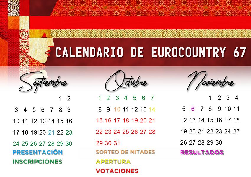 [PRESENTACIÓN] EUROCOUNTRY 67 · Presentación de la edición Calendario