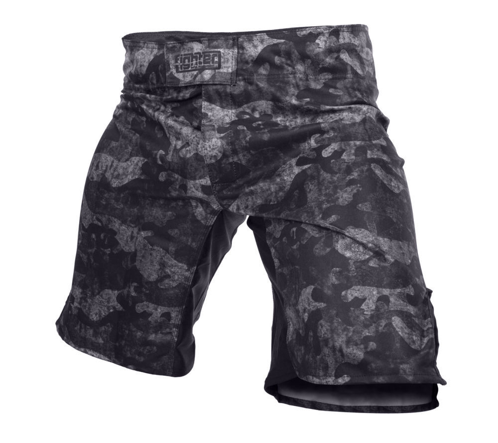 Шорты спортивные Fighter MMA Shorts - Urban Camo - black