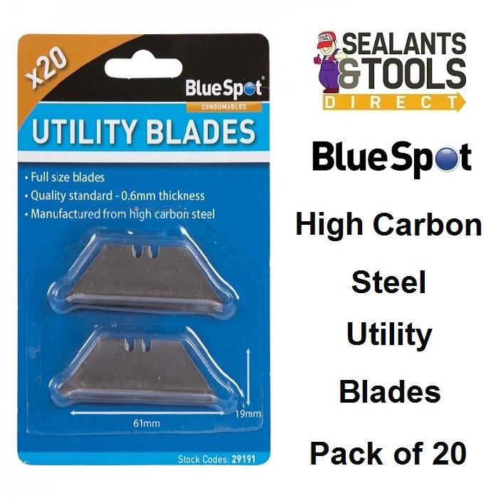 Blue Spot Utility Stanley Knife Blades 29191