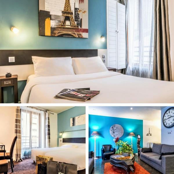 Mejores hoteles baratos en París - conpasaporte.com - Hôtel du Maine