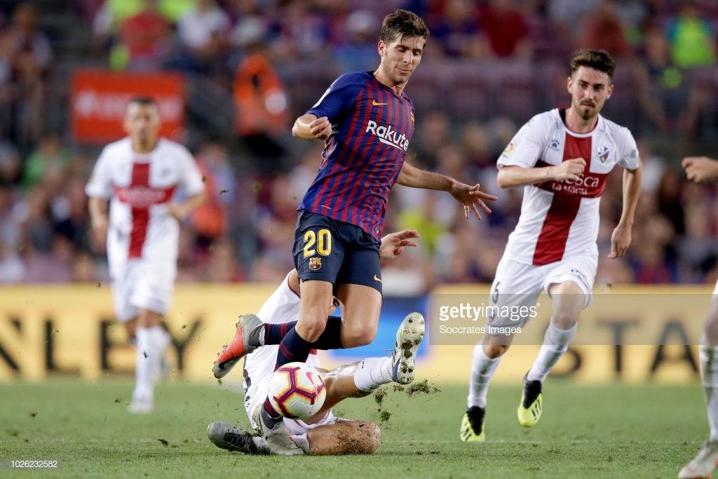 صور مباراة : برشلونة - هويسكا 8-2 ( 02-09-2018 )  R7