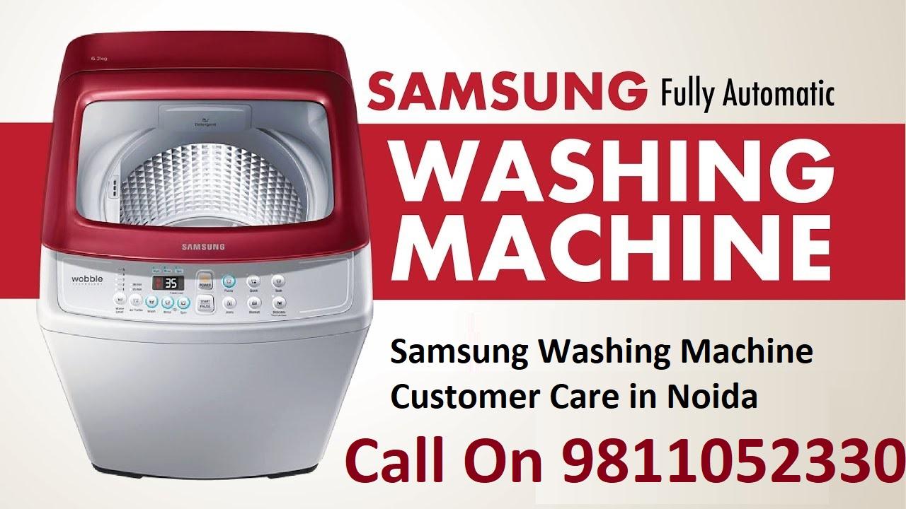 Samsung Washing Machine Customer Care in Noida
