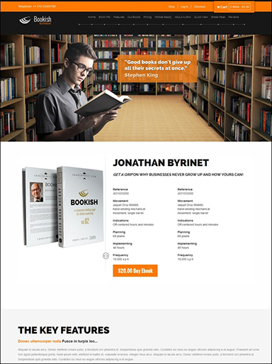 book-author-website-template-wordpress-99-wordpress-themes-for-indie-author-websites-that-will-actually-ideas