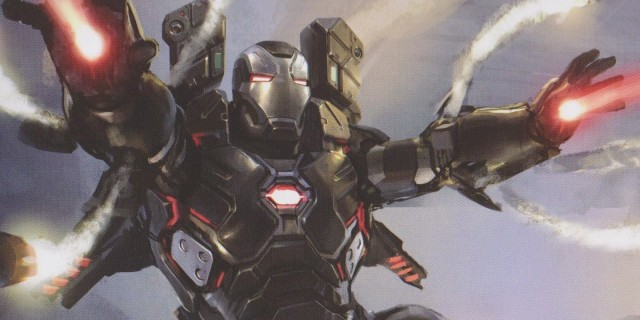 AVENGERS: INFINITY WAR Hi-Res Concept Art Reveals New Designs For Bucky, Black Widow, War Machine, And More