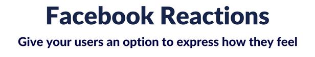Facebook Reactions For WordPress - 2