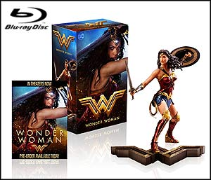 Wonder Woman (Amazon Exclusive/Wonder Woman Figurine/Blu-ray + DVD + Digital HD UltraViolet Combo Pack)