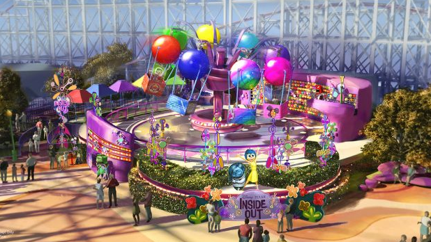 Inside Out Ride at Disneyland California