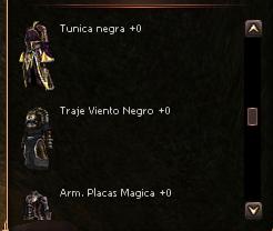 Metines Tu-Young ¡Armaduras acero negro TODAS LAS RAZAS! WDCWDQE