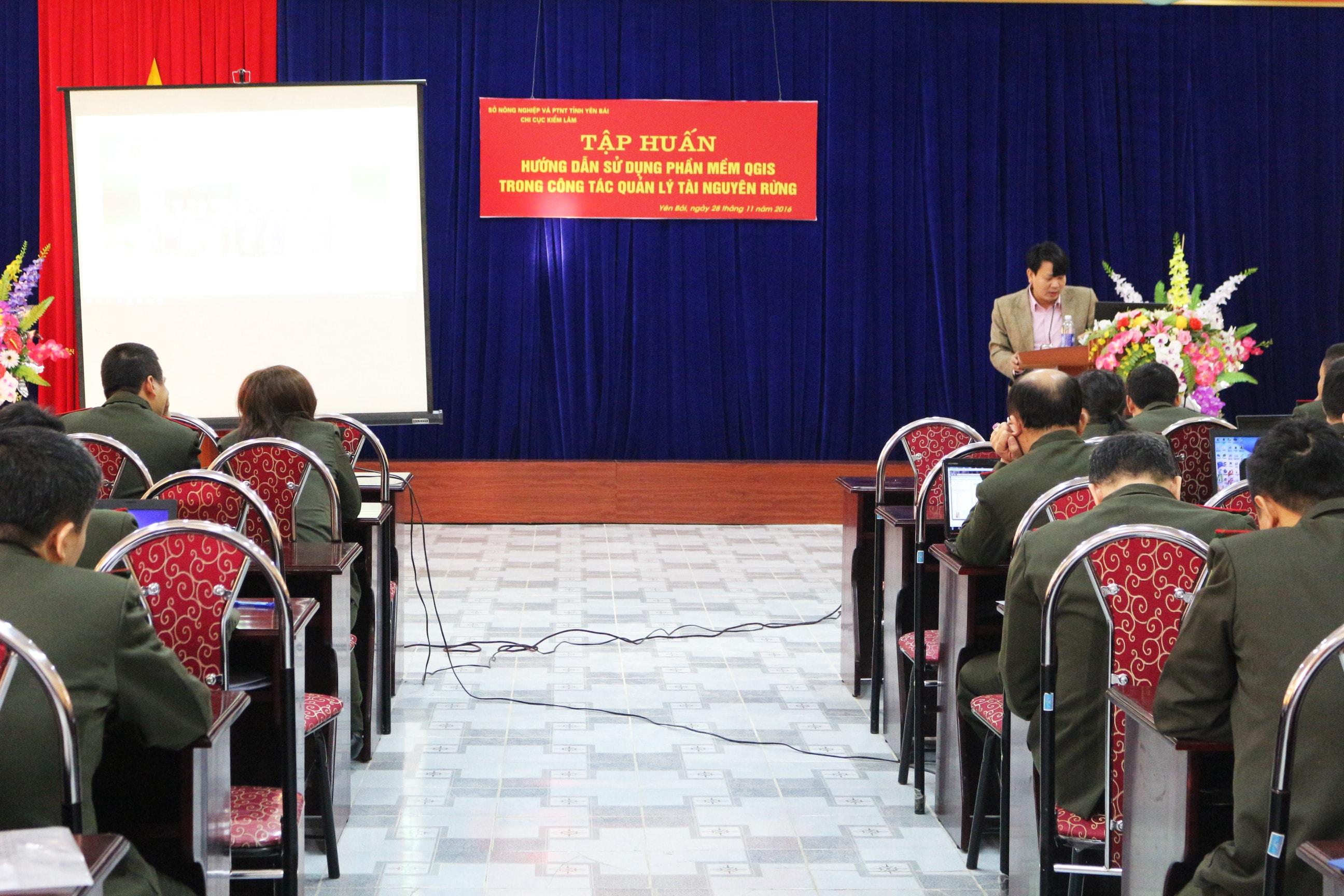 Ths.s Nguyễn Văn Hiểu - Giảng viên khóa tập huấn