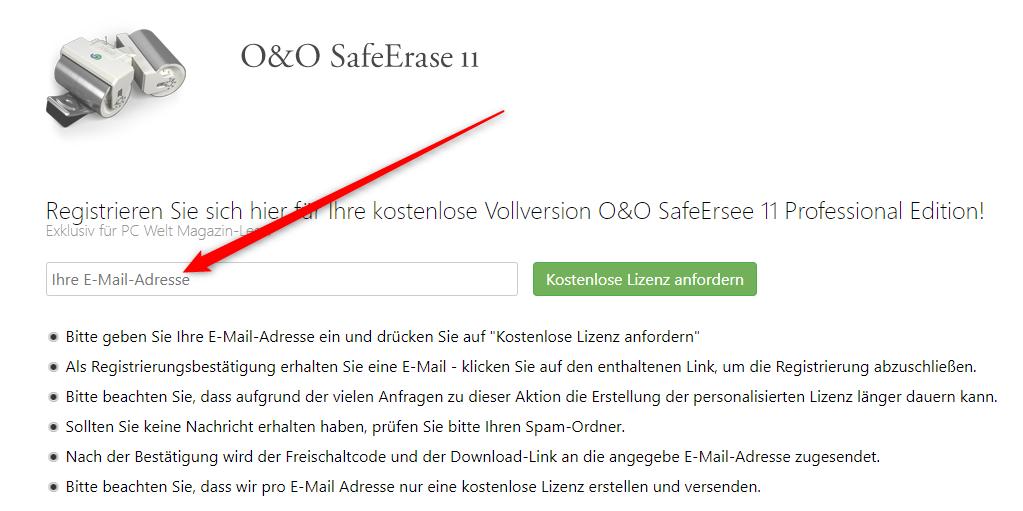 O&O SafeErase 11 Pro Giveaway