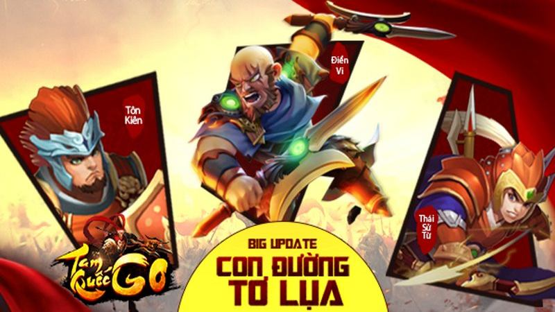 Giftcode - Tam Quốc GO update CĐTL