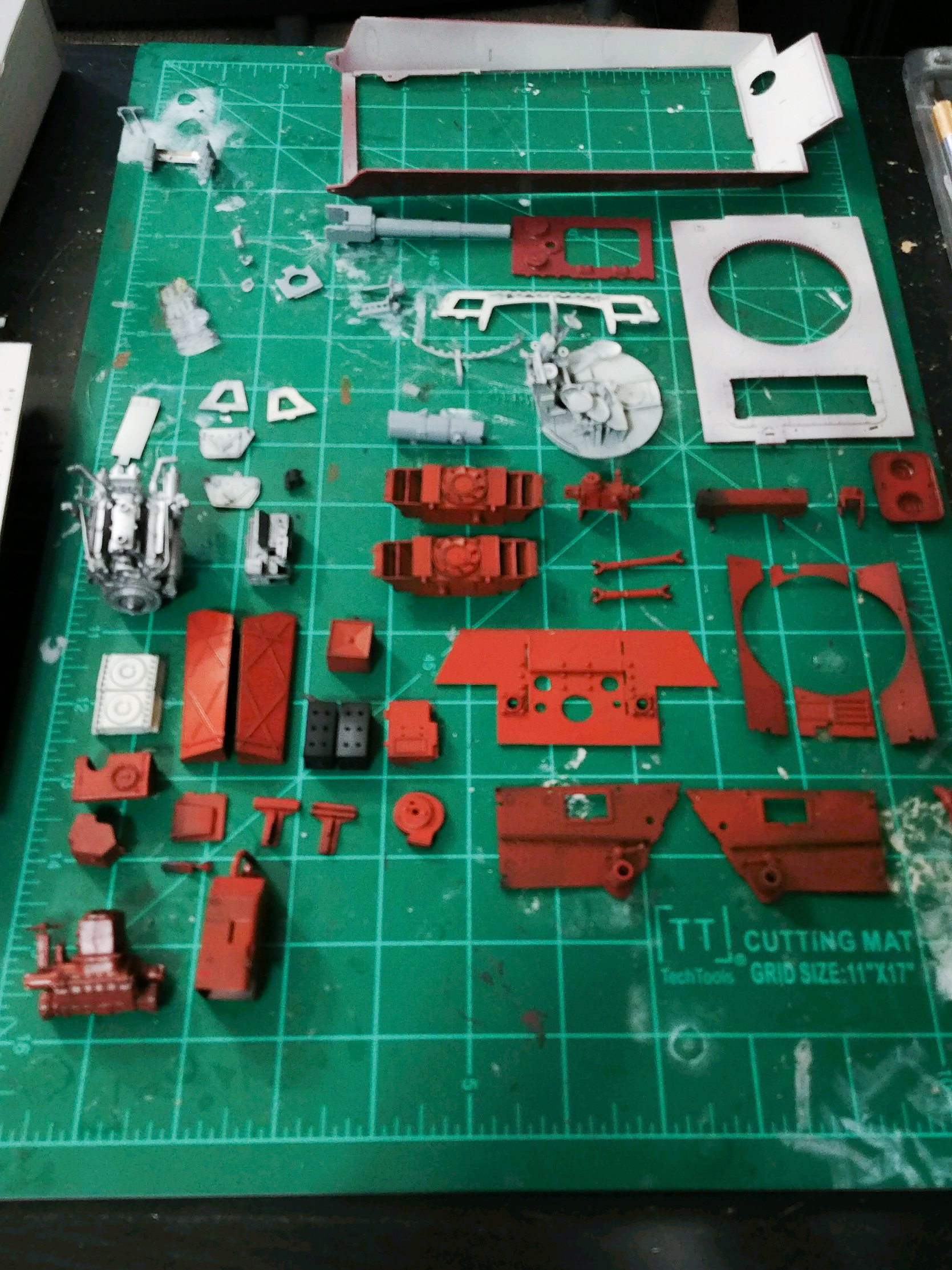 King Tiger Interior Components 2 1 of 1