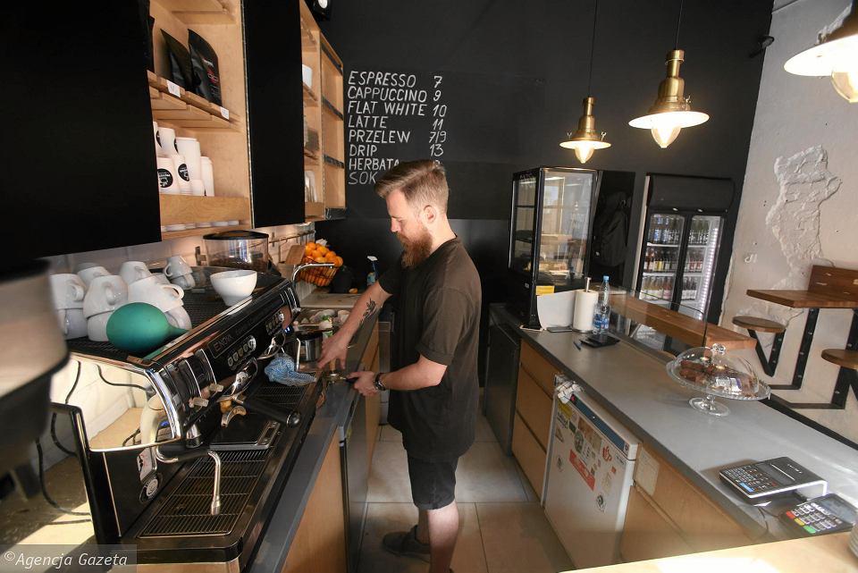 kawiarnia przystań na kawę kawa speciality szczecin
