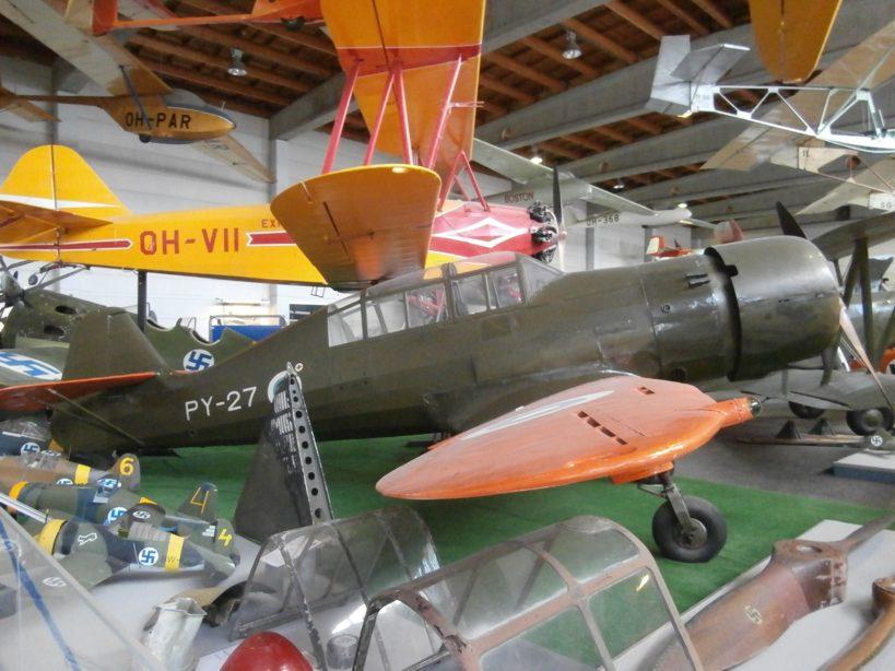 Zrakoplovni muzej u Vantaa-i kod Helsinkija, Finska P8150139