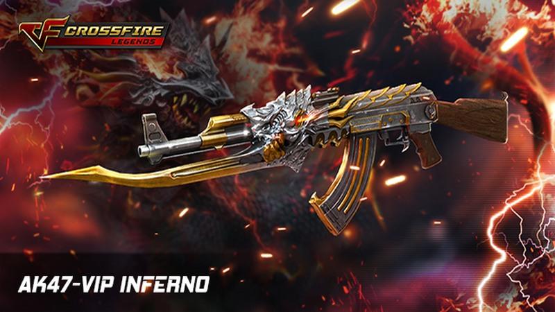 Crossfire Legends - VIP-Inferno bá đạo như thế nào?