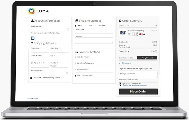 best premium checkout Magento2 extension