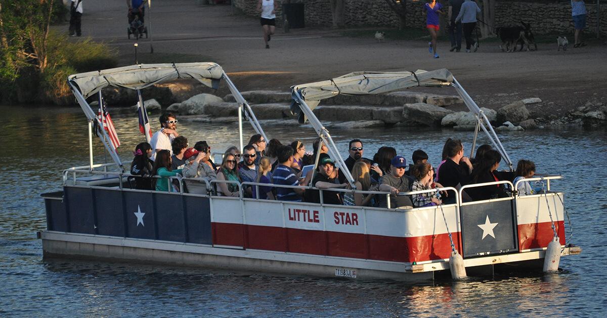moonlight cruise on lady bird lake